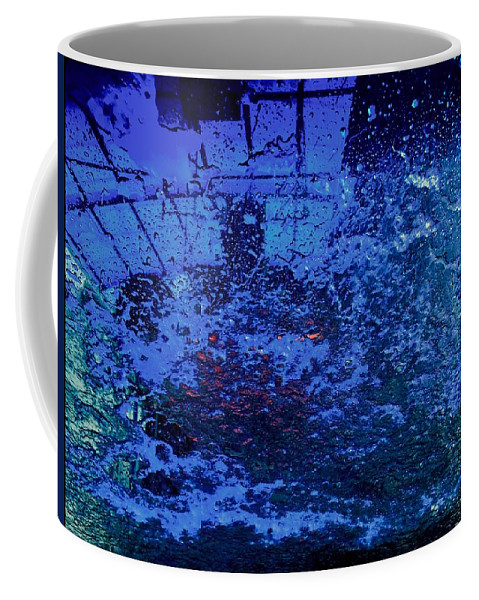 Car Wash Coffee Mug featuring the photograph At The Carwash 12 by Marlene Burns