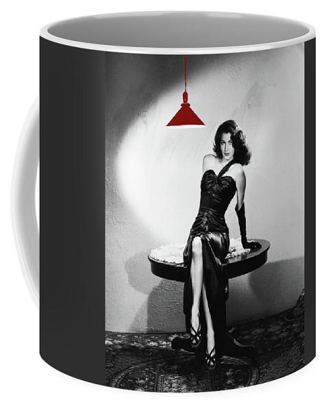 Ava Gardner Film Noir Classic The Killers 1946-2015 Coffee Mug featuring the photograph Ava Gardner Film Noir Classic The Killers 1946-2015 by David Lee Guss