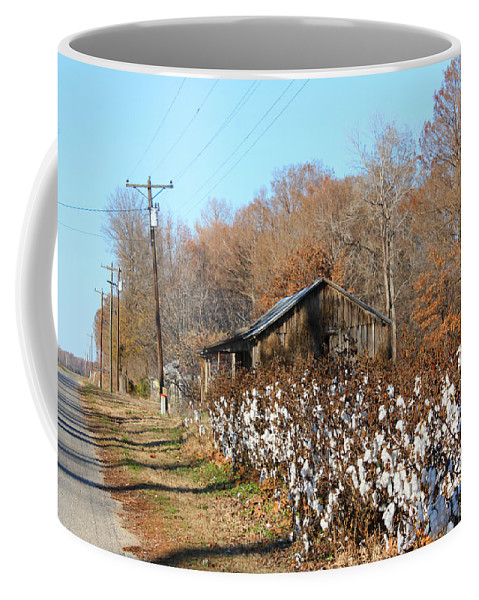 House Coffee Mug featuring the photograph Back Roads Of Ms by Karen Wagner