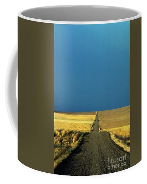 Landscape Coffee Mug featuring the photograph Backroads by Jim Corwin
