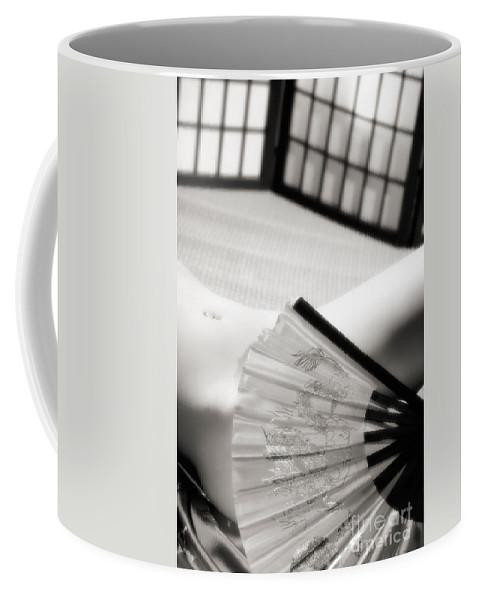 Nude Coffee Mug featuring the photograph Beautiful Naked Woman Body by Oleksiy Maksymenko