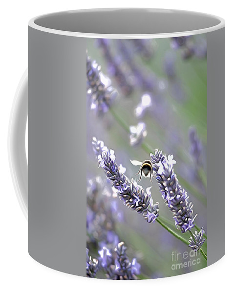 Bee Coffee Mug featuring the photograph Bee by Andrew Michael