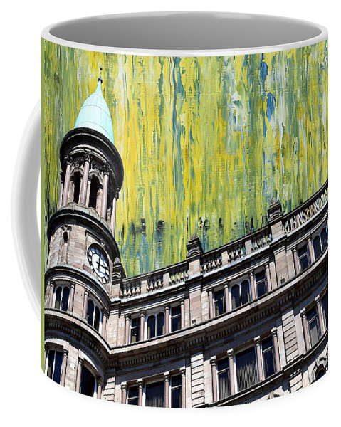 Belfast Coffee Mug featuring the painting Belfast Architecture 6 by Patrick J Murphy