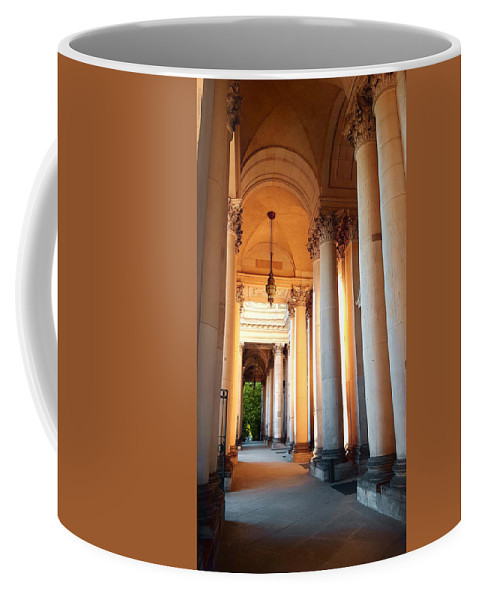Berlin Coffee Mug featuring the photograph Berlin Dome by Valentino Visentini