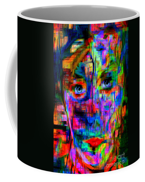 Rafael Salazar Coffee Mug featuring the digital art Besties by Rafael Salazar
