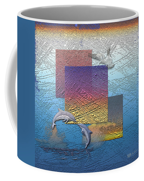 �from Dusk Till Dawn� Collection By Serge Averbukh Coffee Mug featuring the photograph Blue Lagoon Sunrise by Serge Averbukh