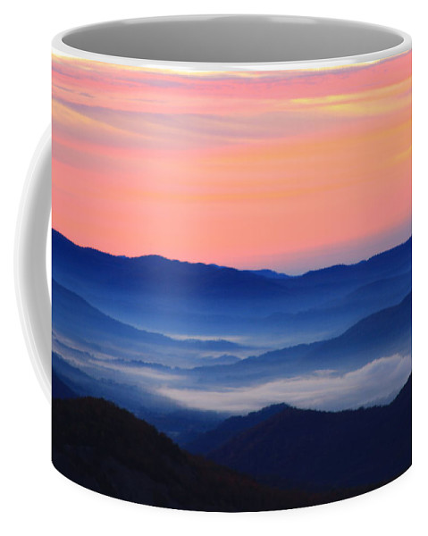 Coffee Mug featuring the photograph Blue Ridge Mountains by Mountains to the Sea Photo
