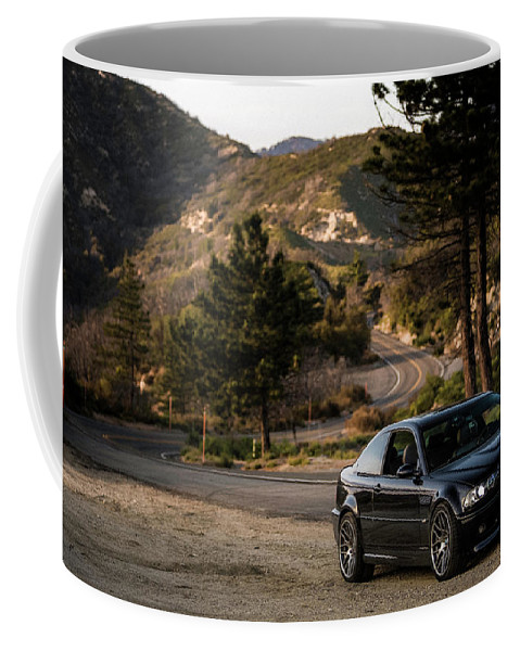 Bmw Coffee Mug featuring the photograph Bmw M3 E46 by Christian Flores