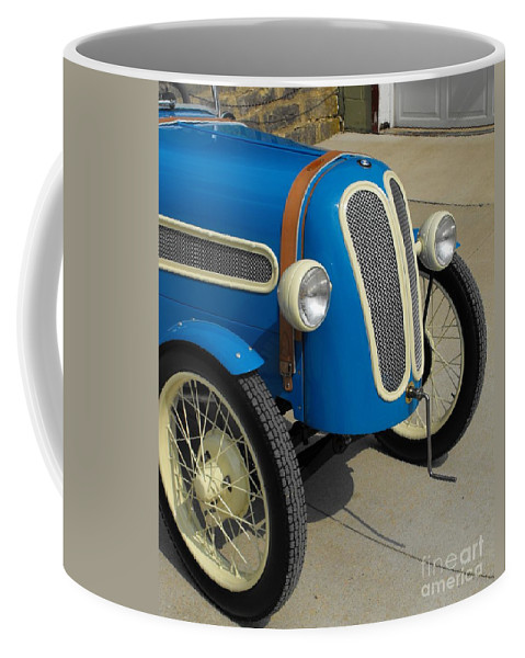 Bmw Coffee Mug featuring the photograph Vintage Bmw Racer by Neil Zimmerman