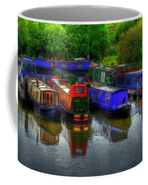Boat Coffee Mug featuring the photograph Boat Life by Svetlana Sewell