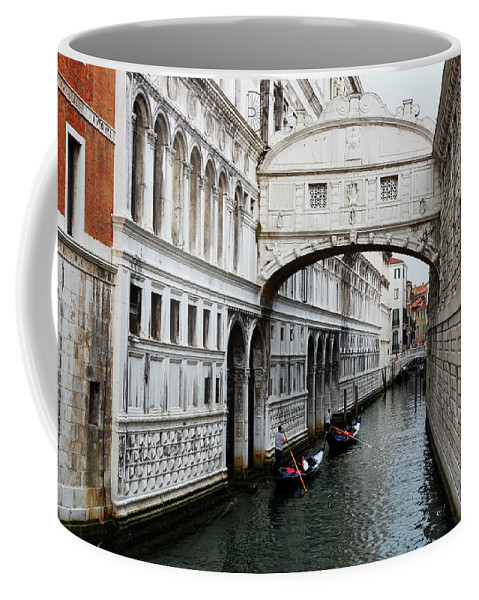 Venice Coffee Mug featuring the photograph Bridge Of Sighs, Venice, Italy by Bruce Beck