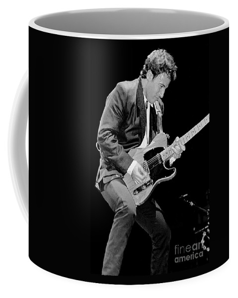 Singer Coffee Mug featuring the photograph Bruce Springsteen by Concert Photos