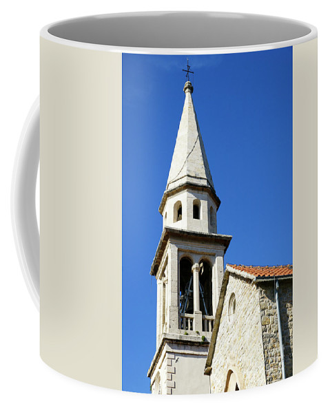 Travel Coffee Mug featuring the photograph Budva, Montenegro by Ruth Hofshi