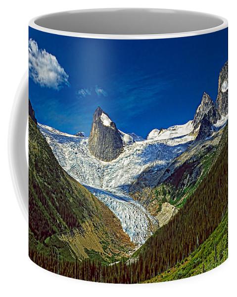 Mountains Coffee Mug featuring the photograph Bugaboo Spires by Steve Harrington