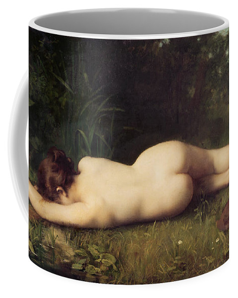 Byblis Coffee Mug featuring the painting Byblis Turning Into A Spring by Jean-Jacques Henner