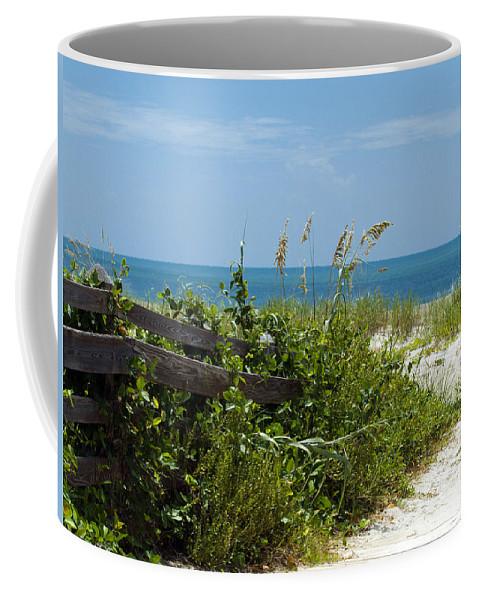Florida; Beach; Ocean; Waves; Wave; Surf; Sand; Sandy; Coast; Shore; Atlantic; Cape; Canaveral; Scen Coffee Mug featuring the photograph Cape Canaveral Florida by Allan Hughes