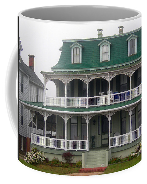 Scenic Tours Coffee Mug featuring the photograph Cape May Victorian by Skip Willits