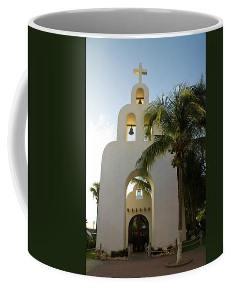 Capilla Coffee Mug featuring the photograph Capilla De Nuestra Senora Del Carmen 2 by Douglas Barnett
