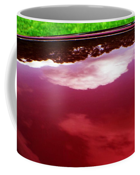 Cars Coffee Mug featuring the photograph Car Reflection 4 by Karl Rose
