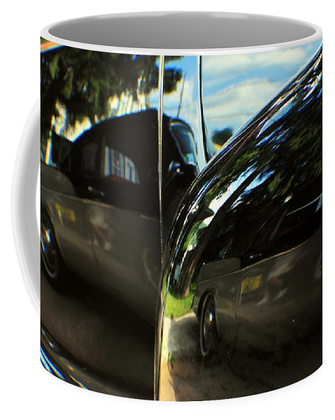 Cars Coffee Mug featuring the photograph Car Reflection 8 by Karl Rose