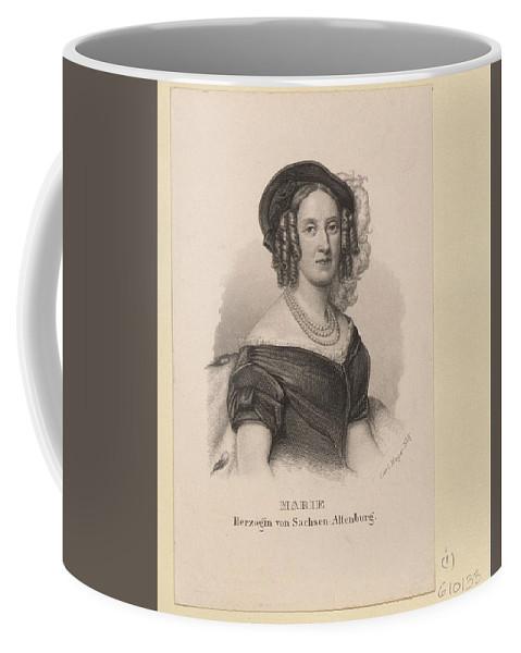 Carl Mayer (1798-1868) Marie Herzogin Von Sachsen-altenburg C.1848-60 Coffee Mug featuring the digital art Carl Mayer by Mark Carlson