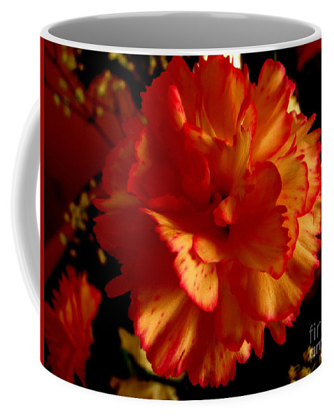 Patzer Coffee Mug featuring the photograph Carnation by Greg Patzer