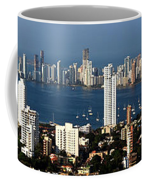 Cartwegena Coffee Mug featuring the photograph Cartegena Colombia by Thomas Marchessault
