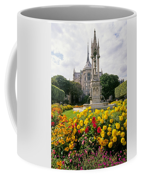 Cathedral Coffee Mug featuring the photograph Cathedral Of Notre Dame by Buddy Mays