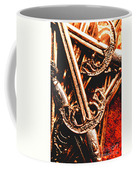 Gladiator Coffee Mug featuring the photograph Centurion Of Battle by Jorgo Photography - Wall Art Gallery