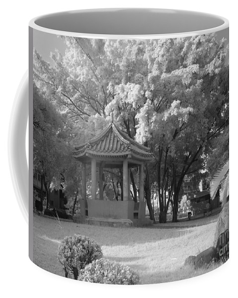 Chinese Coffee Mug featuring the photograph Chinese Garden by Yali Shi