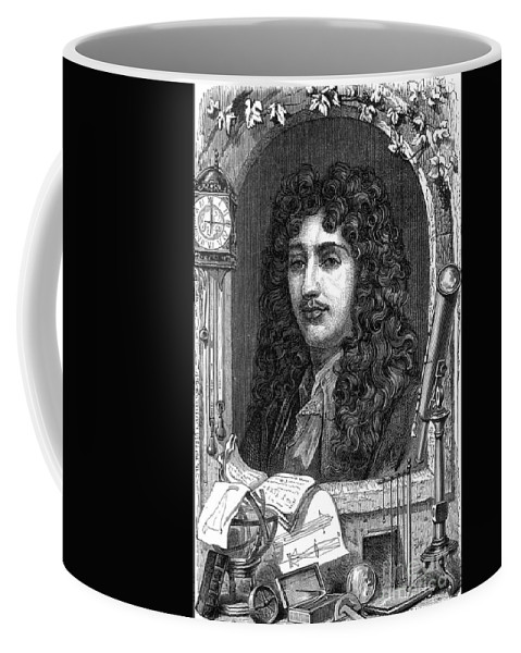 Science Coffee Mug featuring the photograph Christiaan Huygens, Dutch Polymath by Science Source