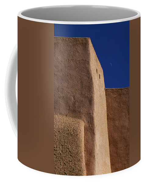 Church Coffee Mug featuring the photograph Church Taos Nm by Bob Neiman
