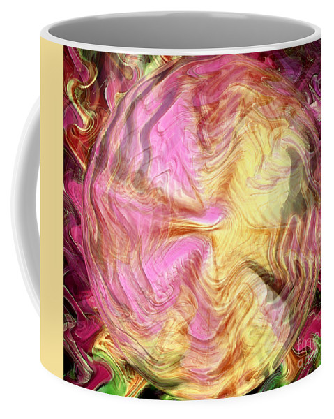 New Age Coffee Mug featuring the digital art Clairvoyance by Krissy Katsimbras