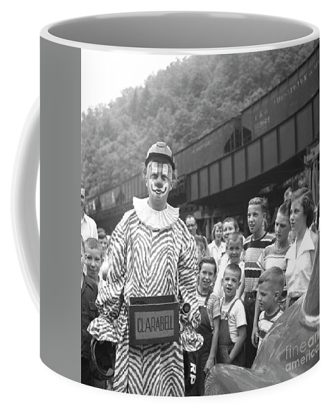 Clarabell The Clown, From The Howdy Doody Show, In West Virginia Coffee Mug