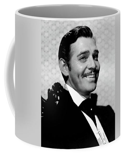 Clark Gable As Rhett Butler Gone With The Wind 1939-2015 Coffee Mug featuring the photograph Clark Gable As Rhett Butler Gone With The Wind 1939-2015 by David Lee Guss