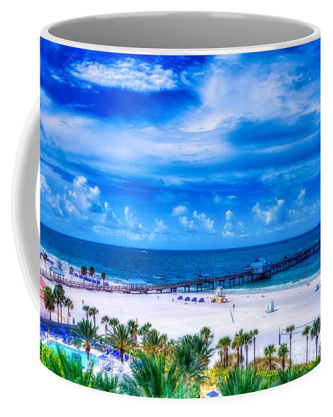 Clearwater Beach Coffee Mug featuring the photograph Clearwater Beach, Florida by Pixabay