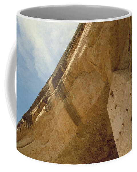 Mesa Verde Coffee Mug featuring the photograph Cliff Palace by Jerry McElroy