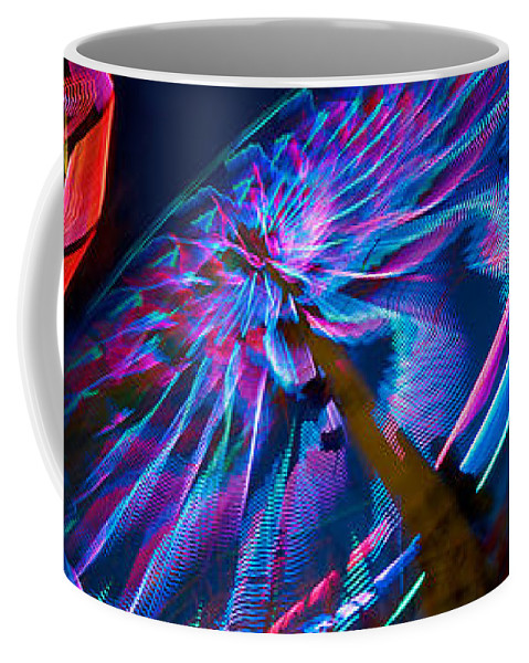 Photography Coffee Mug featuring the photograph Close-up Of Paper Windmills by Panoramic Images