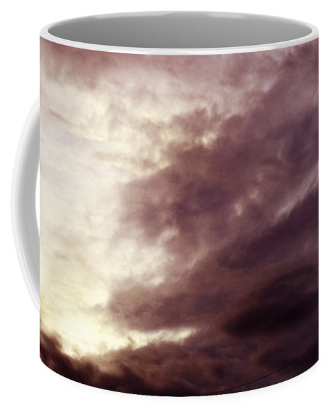 Clay Coffee Mug featuring the photograph Clouds by Clayton Bruster