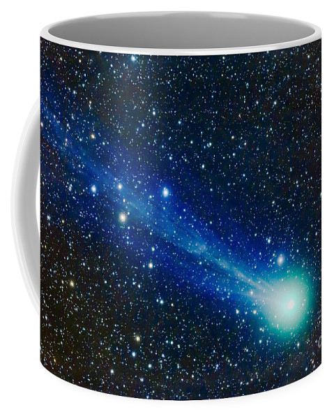 C/2014 Q2 Coffee Mug featuring the photograph Comet Lovejoy C2014 Q2 by Alan Dyer