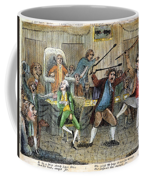 1798 Coffee Mug featuring the photograph Congressional Pugilists by Granger