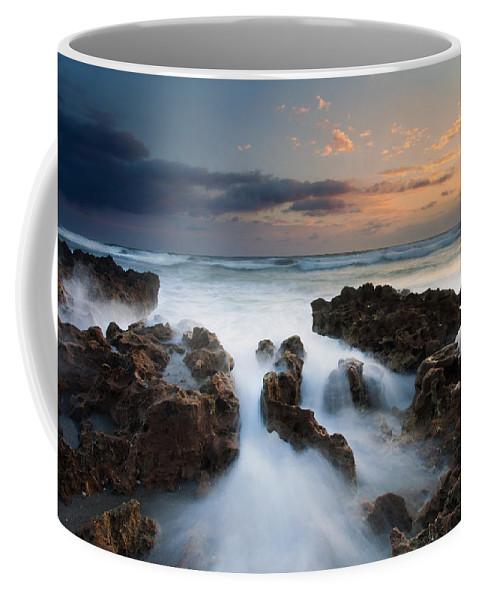 Coral Cove Coffee Mug featuring the photograph Coral Cove Dawn by Mike Dawson