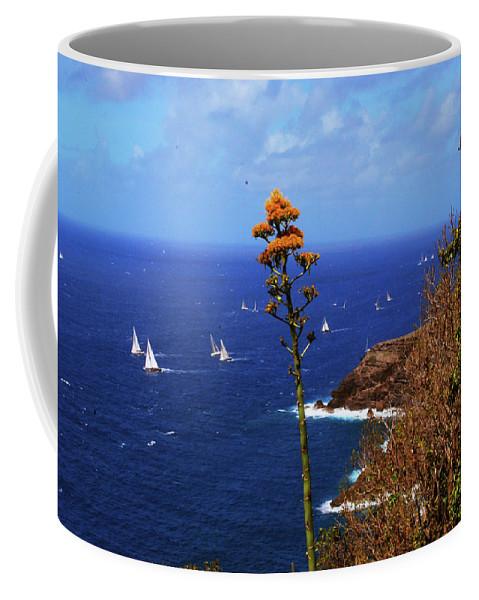 Caribbean Islands Coffee Mug featuring the photograph Daggers Los Antigua by Gary Wonning