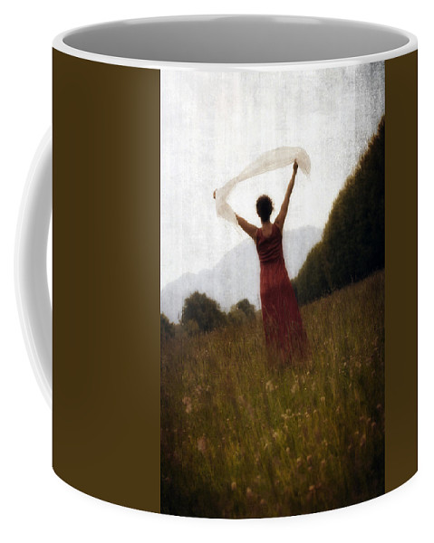 Female Coffee Mug featuring the photograph Dancing by Joana Kruse