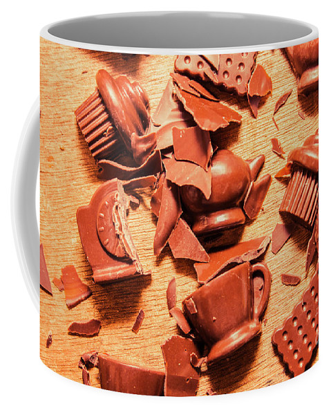 Chocolate Coffee Mug featuring the photograph Death By Chocolate by Jorgo Photography - Wall Art Gallery