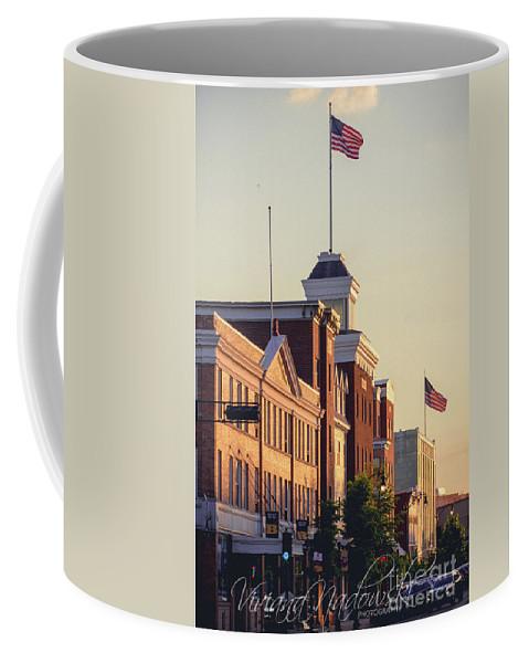 Downtown Beloit Coffee Mug featuring the photograph Downtown Beloit by Viviana Nadowski