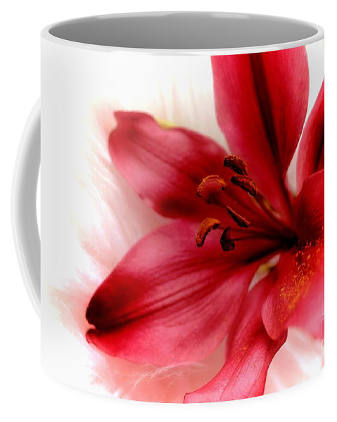 Cat Coffee Mug featuring the photograph Dreaming by Clare Bevan