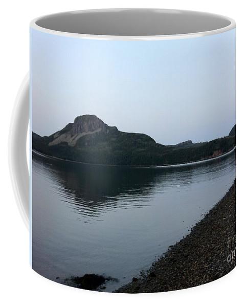 Dusk Calm Evening Coffee Mug featuring the photograph Dusk Calm Evening by Barbara Griffin