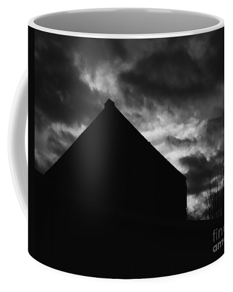 Black And White Coffee Mug featuring the photograph Early Morning by Peter Piatt