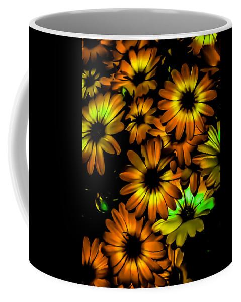 Coffee Mug featuring the photograph Fall Flowers by Heather Joyce Morrill